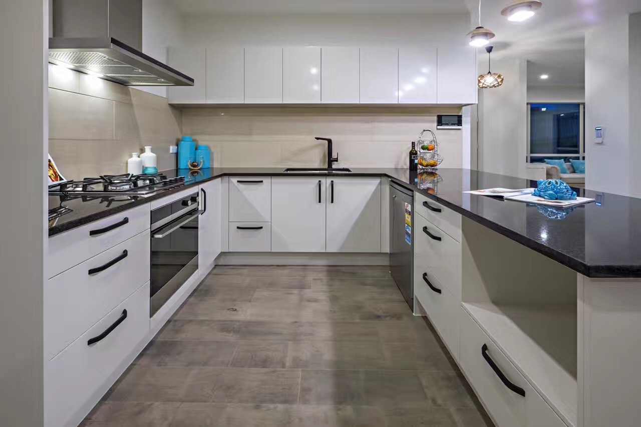 Ash Dark Grey Laminate Flooring Interior2
