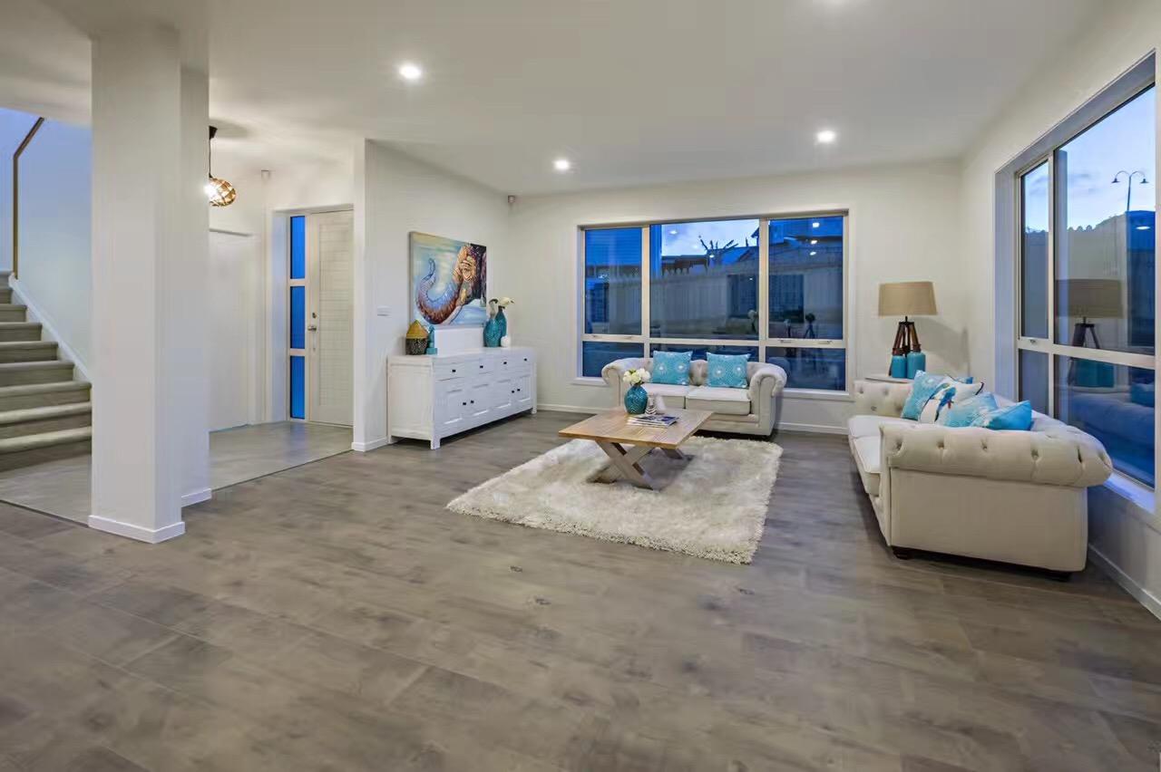 Ash Dark Grey Laminate Flooring Interior3
