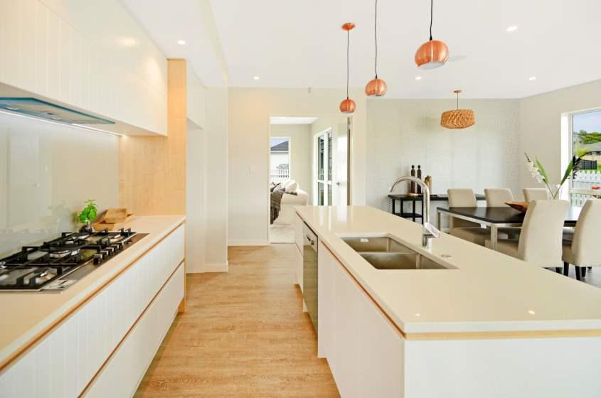 Concrete Wood Light Grey Laminate Flooring Interior25